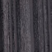 Black/Pewter Woodgrain Stripe Silk Chiffon