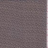 Taupe/Black Mini Pebble Silk Chiffon