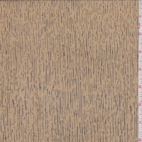 Ochre/Black Woodgrain Silk Crinkle Chiffon