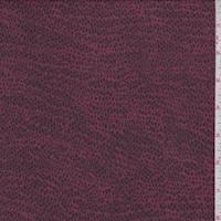 Navy/Brick Mini Pebble Silk Crepe Georgette