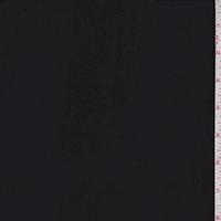 Matte Black Silk Chiffon