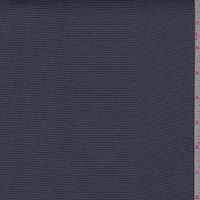 Dark Ink Blue Pinstripe Chiffon