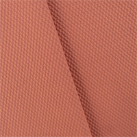 *1 5/8 YD PC--Coral Pink Wool Cloque Jacketing