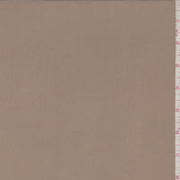 *1 7/8 YD PC--Dark Tan Silk Crepe de Chine