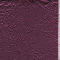 *3 YD PC--Mulberry Wrinkled Polyester Satin