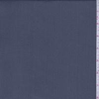 Dark Ash Blue Iridescent Silk Chiffon