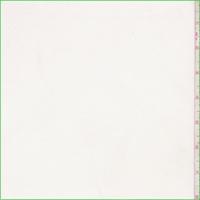 White Tricot Knit