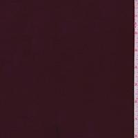 Wine  Satin Scuba Knit