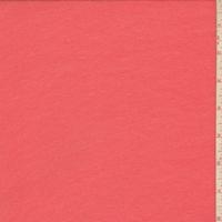 Bright Coral Crepe Georgette