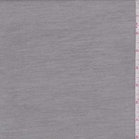 Heather Stone Grey Brushed French Terry Knit