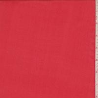Bright Red Silk Crepe de Chine