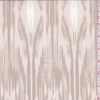 Ecru/Pale Taupe Woodgrain Lawn