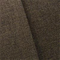 *1 1/4 YD PC--Black/Beige Micro Checker Chenille Home Decorating Fabric
