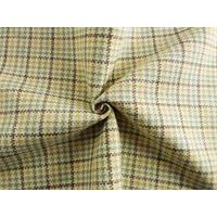 *2 1/8 YD PC--White/Multi Plaid Home Decorating Fabric