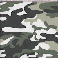 Moss/Sage/Black Camo Stretch Sateen