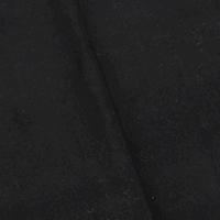 Meteor Black Wool Blend Brushed Back Stretch Twill Jacketing