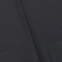 Inked Black Wool Blend Stripe Suiting