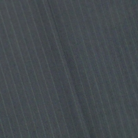 Lead/Black Wool Blend Stripe Woven Stretch Suiting