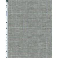 *1/2 YD PC--Gray/White Crinkle Glenplaid Shirting