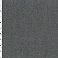 Shaded Gray Wool Blend Semi-Opaque Dobby Woven Suiting
