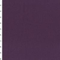 Deep Mulberry Purple Wool Blend Slub Suiting