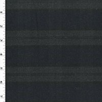 Navy/Black/Gray Plaid Stretch Twill Suiting
