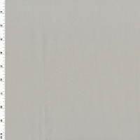 Ceramic Taupe Gray Wool Blend Twill Suiting