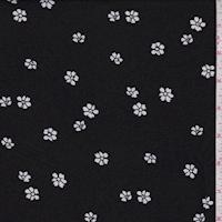ITY Black Mini Floral Jersey Knit