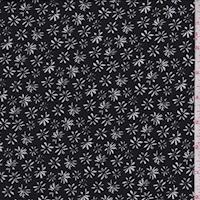 ITY Black Mini Daisy Jersey Knit