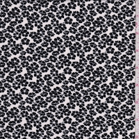 ITY White/Black Poppy Jersey Knit