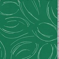 ITY Kelly/White Sketch Jersey Knit