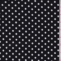 ITY Black/White Dot Jersey Knit