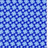 ITY Royal/White Fan Medallion Jersey Knit