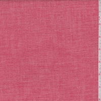 Chambray Red Double Gauze