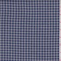 Navy/Grey Check Flannel