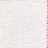 Ivory Slubbed Sweater Knit