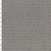 *2 YD PC--Brown/Multi Wool Stripe Momie Woven