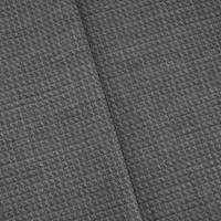 *2 3/4 YD PC--Black/Gray Textured Tropical Wool Blend Dobby Suiting