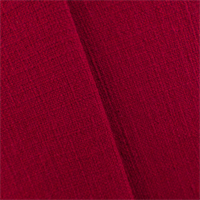 * 3 5/8 YD PC--Scarlet Red Basketweave Home Decorating Fabric