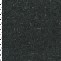 *2 7/8 YD PC--Charcoal Gray Texture Chenille Home Decorating Fabric