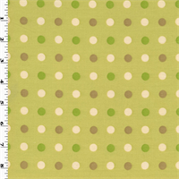 *6 YD PC--Green Tea P Kaufmann Tutti Frutti Home Decorating Fabric