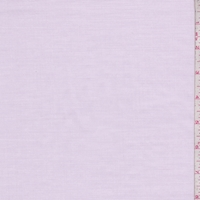 Pale Orchid Pink Pique Shirting