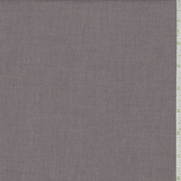Sterling Grey Oxford Shirting