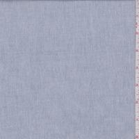 Vintage Blue Cotton Oxford Shirting