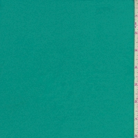 Teal Cotton Stretch Twill