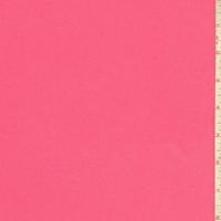Bright Pink Cotton Stretch Twill