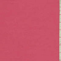 Salmon Pink Cotton Stretch Twill