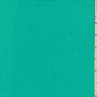 Turquoise Green Cotton Stretch Twill