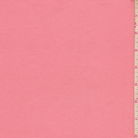 Peach Pink Cotton Stretch Twill