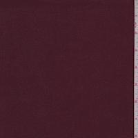 Cranberry Cotton Stretch Twill